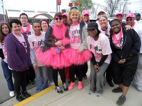 Breast Cancer 5k at Austin Peay State University. (Kathleen Evans)
