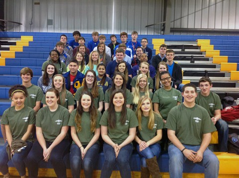Clarksville Academy Students attended the Middle Tennessee Science and Engineering Fair.