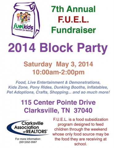 Project F.U.E.L. Block Party and Fundraiser