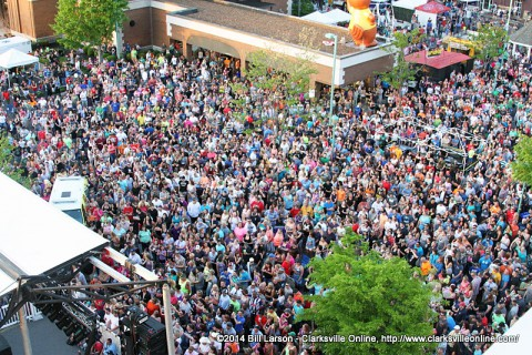 2014 Rivers and Spires Festival draws over 41,000 people.