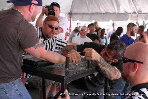 The Military Appreciation Area Arm Wrestling Competition
