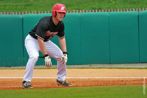 Outfield Cayce Bredlau had three hits and score twice in the Govs loss to Southeast Missouri, Sunday afternoon. (Brittney Sparn/APSU Sports Information)