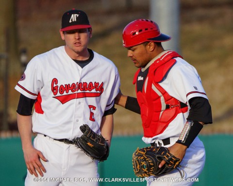 Austin Peay Baseball defeats Belmont 3-0 behind Robles' one-hitter. (Michael Rios Clarksville Sports Network)