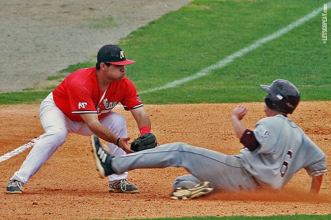 Austin Peay Third baseman Alex Robles was 1-for-4 with three RBI in the Govs loss to Western Kentucky, Tuesday. (Brittney Sparn/APSU Sports Information)