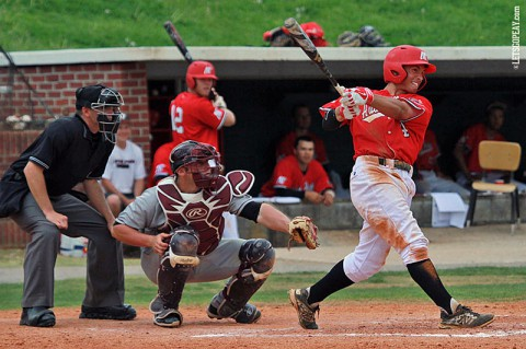 Austin Peay second baseman Garrett Copeland went 1-for-2 and reached base three times in the Govs loss at Middle Tennessee, Wednesday. (Brittney Sparn/APSU Sports Information)