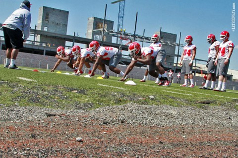 Austin Peay Governors Football. (Brittney Sparn/APSU Sports Information)