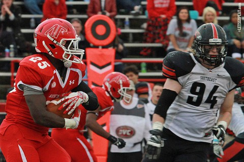 Austin Peay's Omar Williams released from Governors Football Team. (Brittney Sparn/APSU Sports Information)