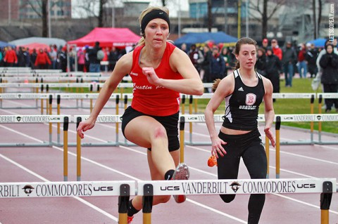 Austin Peay Women's Track and Field. (Brittney Sparn/APSU Sports Information)