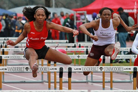 Austin Peay Women's Track and Field. (Brittney Sparn/APSU Sports Information)