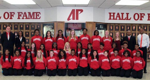 Austin Peay Lady Govs Track and Field/Cross Country Team. (APSU Sports Information)