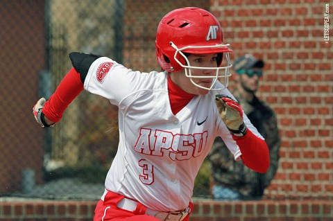 Austin Peay Sophomore Marissa Lakes is hitting .379 over her nine games played for Lady Govs Softball this season. (Brittney Sparn/APSU Sports Information)