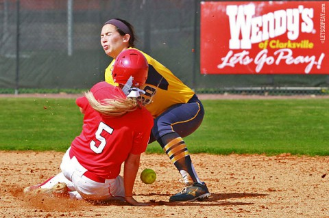 Austin Peay Lady Govs Softball. (Brittney Sparn/APSU Sports Information)