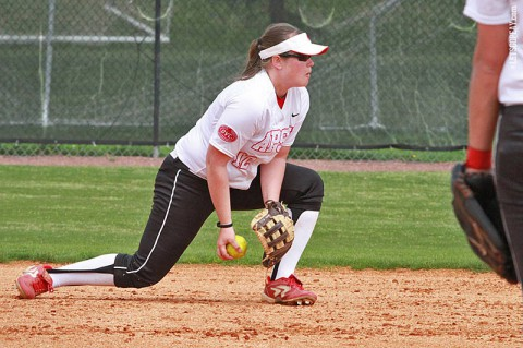 Austin Peay Softball. (Brittney Sparn/APSU Sports Information)