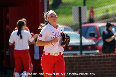 Austin Peay Softball drops double-header to Morehead State. (Michael Rios Clarksville Sports Network)