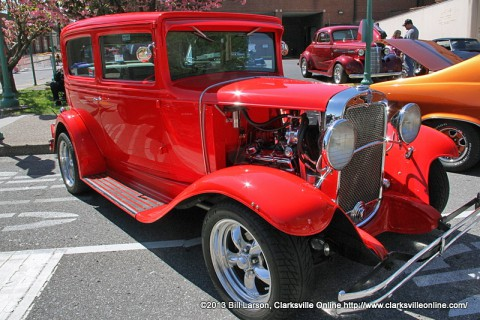 Car Show this Saturday at Rivers and Spires.