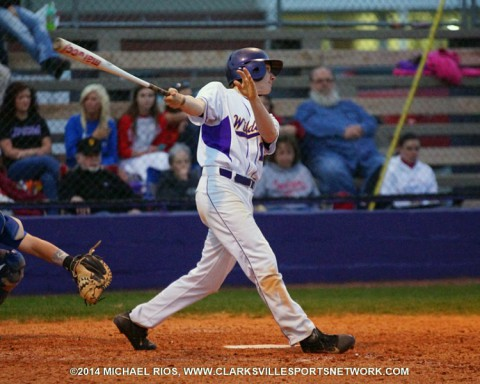 Clarksville High Wildcats beat Montgomery Central Indians 9-1.