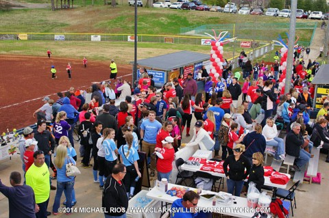 Clarksville National Softball League's Jamboree and Opening Ceremony