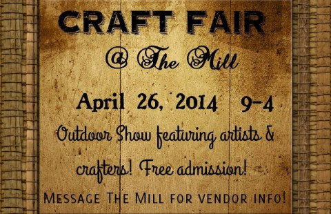 Spring Craft Fair at The Mill