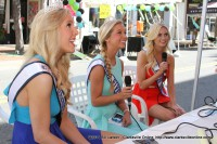 The Festival Queens during their interview with WJZM 1400 AM