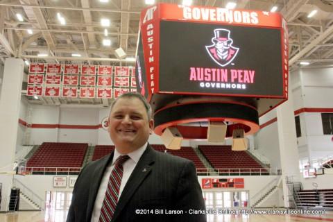 APSU Athletics Director Derek van der Merwe