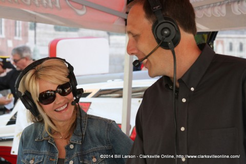 Dave Loos and Julie Morris, hosts of Good Morning Clarksville