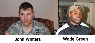 John Winters and Wade Green