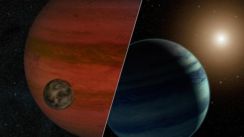 "Researchers have detected the first ""exomoon"" candidate -- a moon orbiting a planet that lies outside our solar system. (Image credit: NASA/JPL-Caltech)"