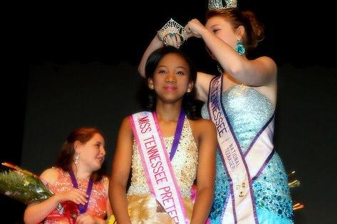 2014 Miss Tennessee Preteen National Teenager Naomi Jones.