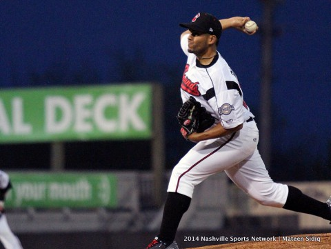 Nashville Sounds defeat Memphis 5-4 at Greer Stadium. (Mateen Sidiq Nashville Sports Network)
