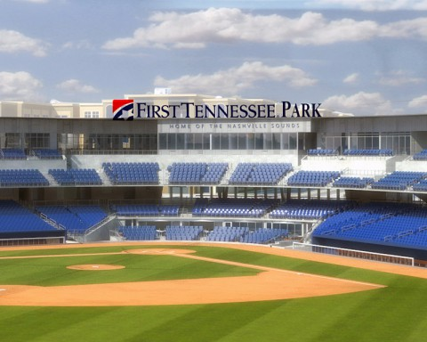 Nashville Sounds new ballpark, First Tennessee Park. (Nashville Sounds)