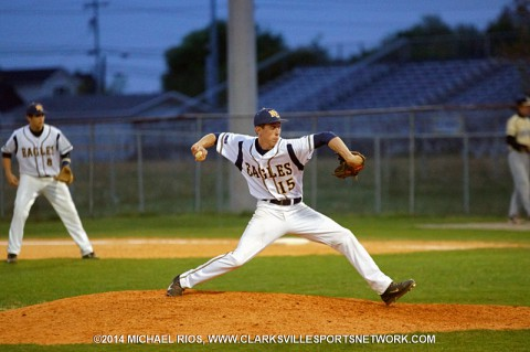 Northeast Baseball rallies for 5-4 win over Sycamore. (Michael Rios Clarksville Sports Network)