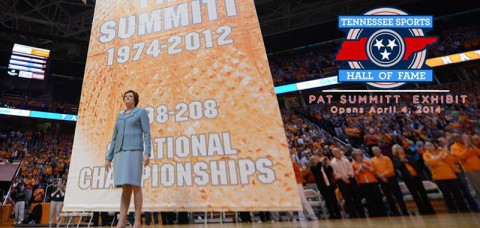 Pat Summitt Exhibit opens in Nashville. (UT Sports Information)