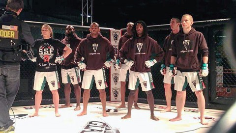 SSF Academy fighters competing in National Competition (Ron Dayley - SSF Academy)