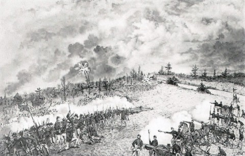 The Battle of Spring Hill.