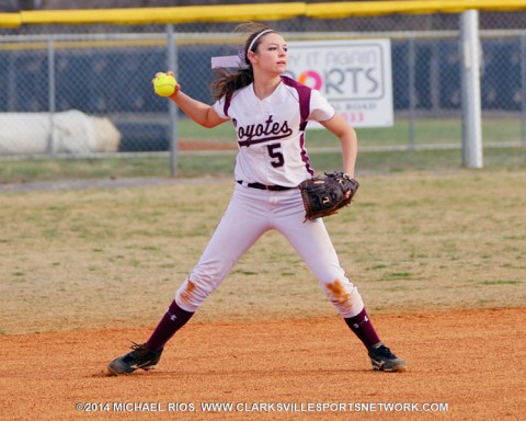 West Creek Softball loses 7-4 to Montgomery Central Wednesday.
