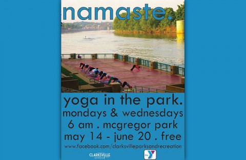 "Clarksville Parks and Recreation's ""Yoga in the Park"""