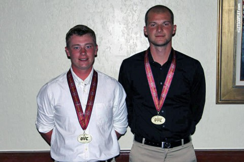 Anthony Bradley and Marco Iten earn All-OVC Honors again for Austin Peay Men's Golf. (APSU Sports Information)