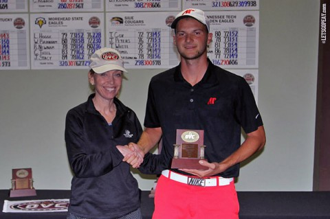 Austin Peay's Marco Iten gets OVC Medalist honor, earns NCAA berth.  (APSU Sports Information)