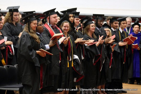 APSU Spring Commencement ceremony