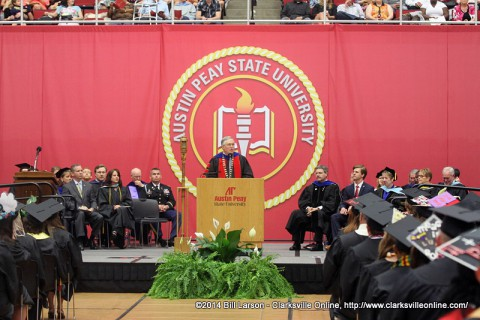 2014 Austin Peay State University May Commencement