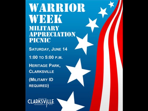 2014 Clarksville Warrior Week Picnic