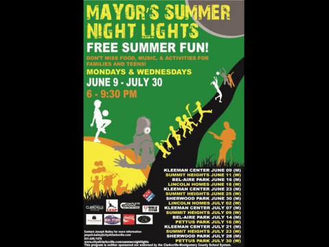 2014 Mayor's Summer Night Lights