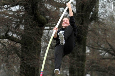 Austin Peay Track and Field pole vaulter Molly Basch named Capital One All-American. (APSU Sports Information)