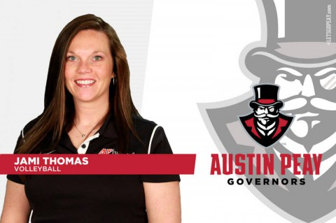 APSU Volleyball announces Jami Thomas joins coaching staff (APSU Sports Information)