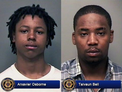 Clarksville Police are looking for Arxavier Osborne and Taivaun Bell for questioning in the April 26th shooting at the Red Zone.