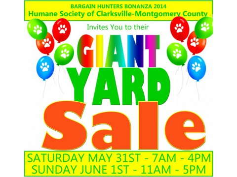 Bargain Hunters Bonanza Yard Sale Fundraiser