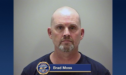 Brad Moss arrested for Forgery.