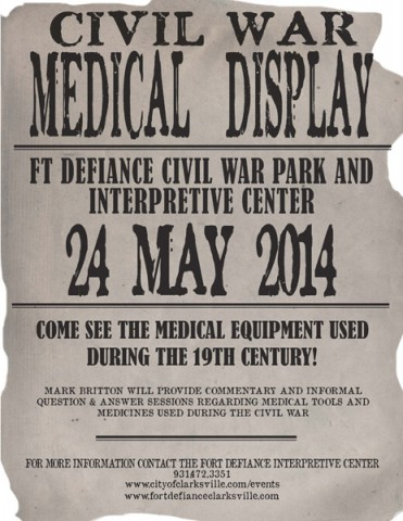 Civil War Medical Display