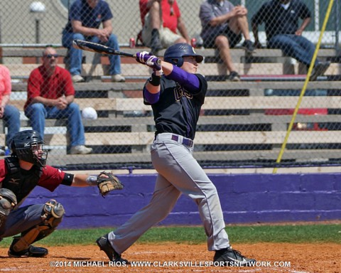 Clarksville High gets 14-4 win over Henry County in 10-AAA Baseball Tournament.