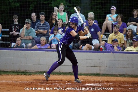 Clarksville High Softball beats Northeast 16-6.
